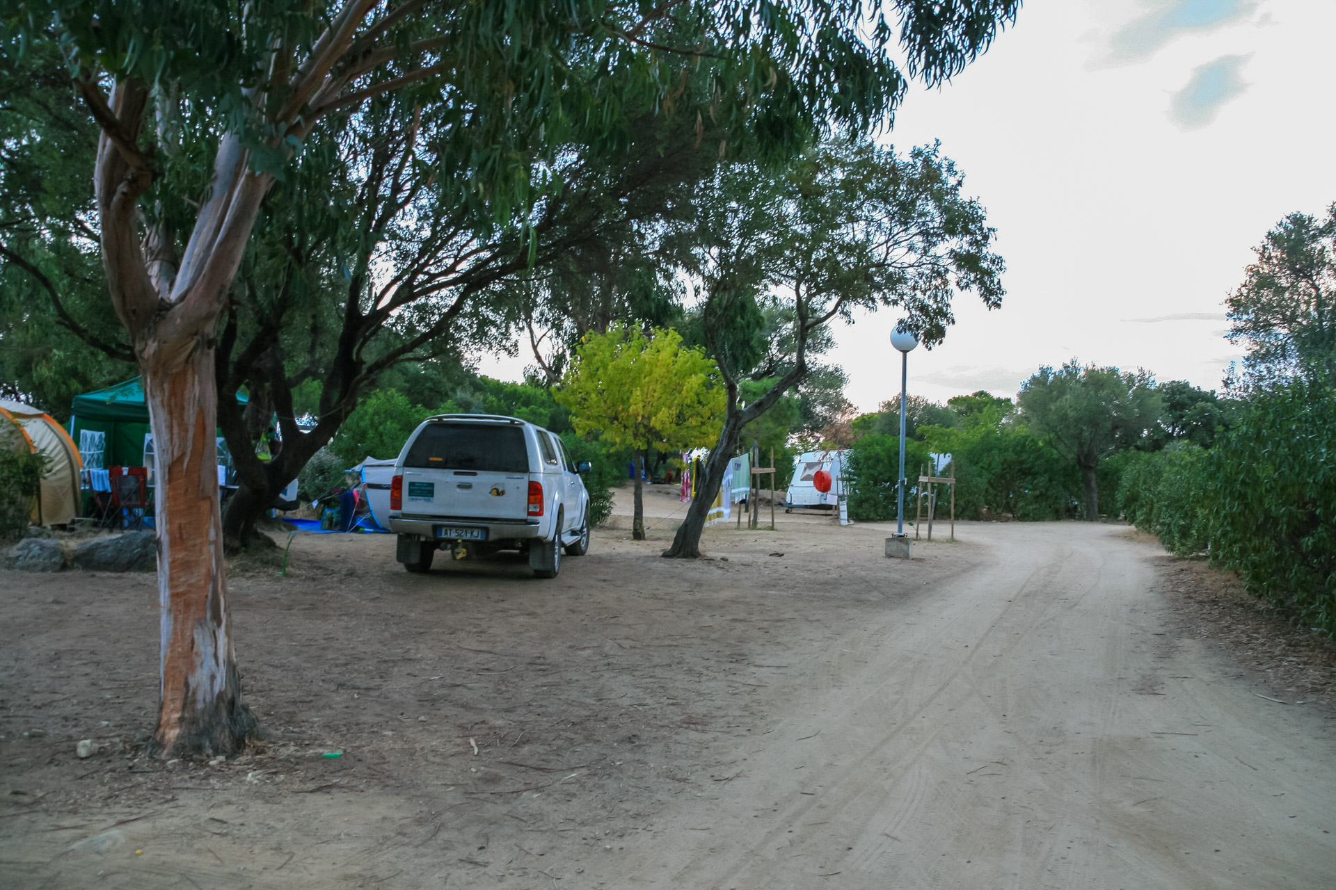 Camping Les Oliviers