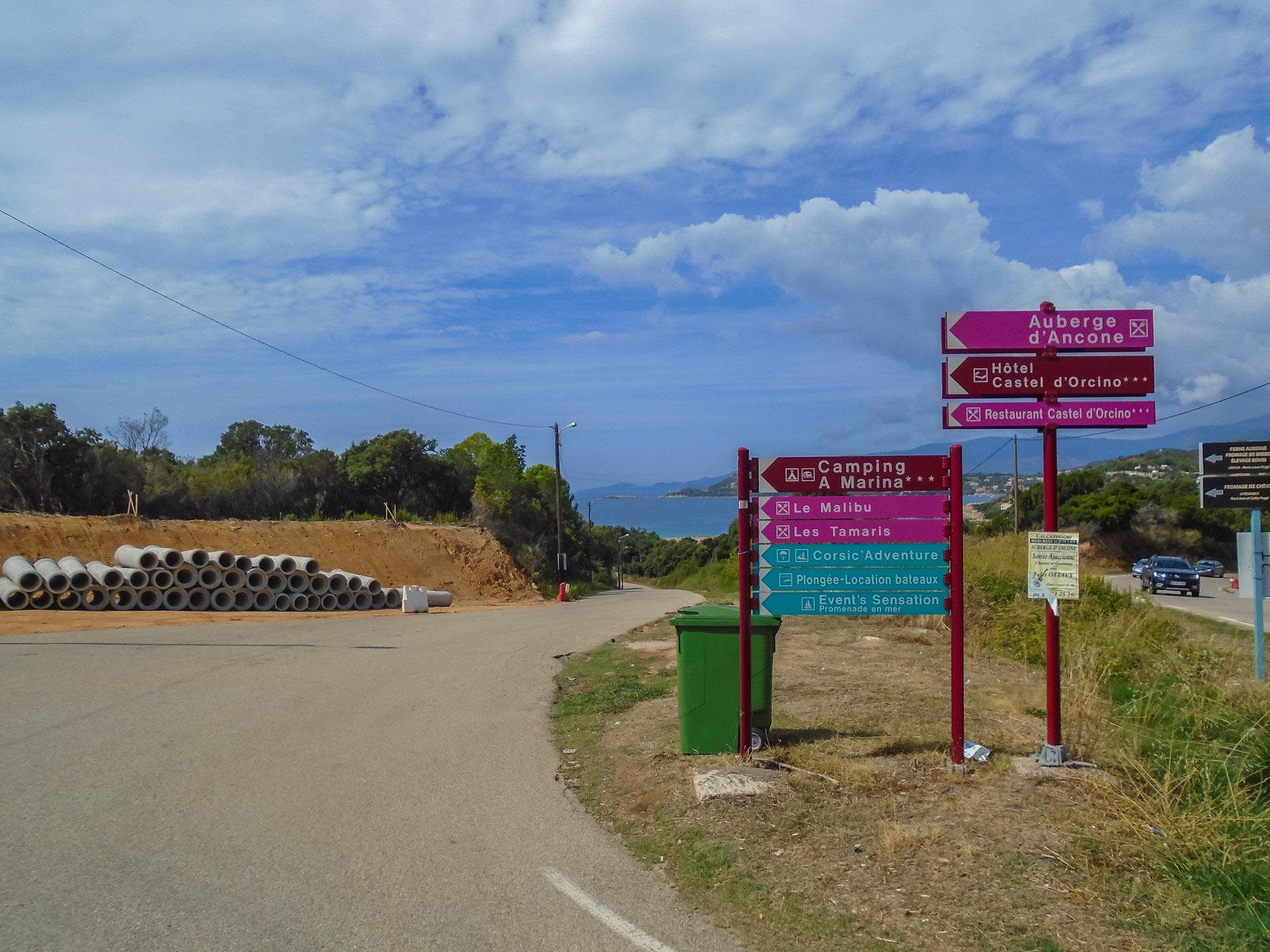 Camping A Marina Calcatoggio