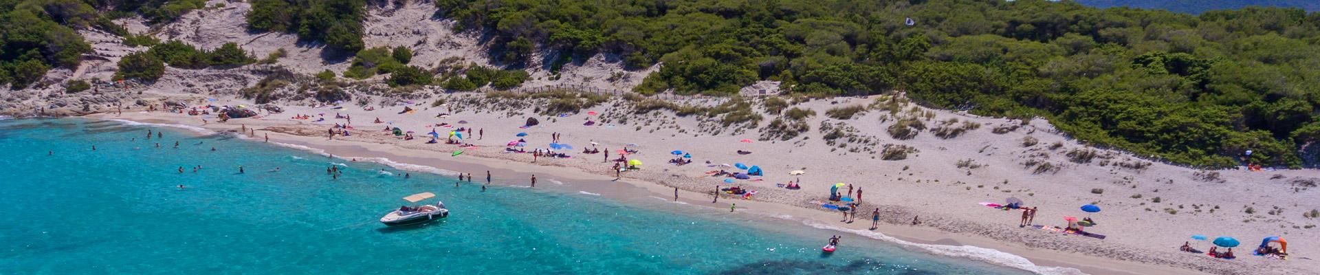 Slider Camping Korsika Strände