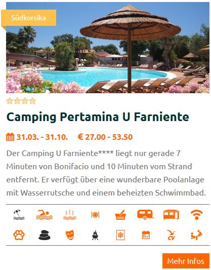 Camping Korsika Verzeichnis Kartei