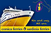 Corsica Ferries - Fähre nach Korsika