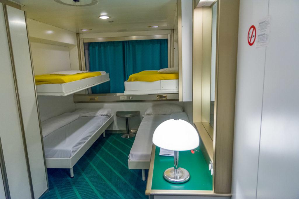 soll man auf der f hre eine kabine buchen camping in. Black Bedroom Furniture Sets. Home Design Ideas