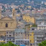 Bastia mit der Kirche Saint-Jean Baptiste