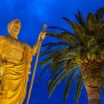 Bastia Napoleonstatue auf der Place Saint-Nicolas