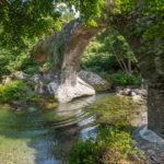 Flussbadestelle im Bevinco