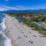 Strand bei Ghisonaccia beim Camping Arinella Bianca