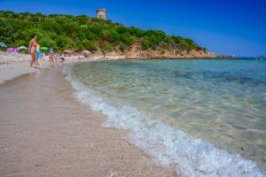 Schönster Strand Korsikas Fautea