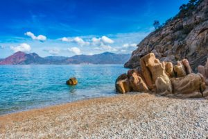 Schönster Strand Korsikas Ficajola