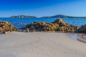 Schönster Strand Korsikas Pinarello