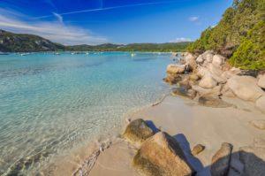 Schönster Strand Korsikas Santa Giulia