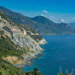 Stillgelegtes Asbestwerk an der Westküste des Cap Corse