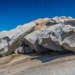 Klippen in der Bucht von Calvi