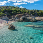 Strand von Algajo bei Calvi