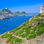 Iles Sanguinaires und Tour de la Parata