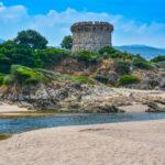Strand von Capitello bei Porticcio