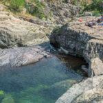 Flussbadestelle im Zoicu