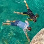 Schnorcheln beim Strand von Ficajola
