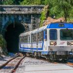 Korsische Eisenbahn in Vizzavona